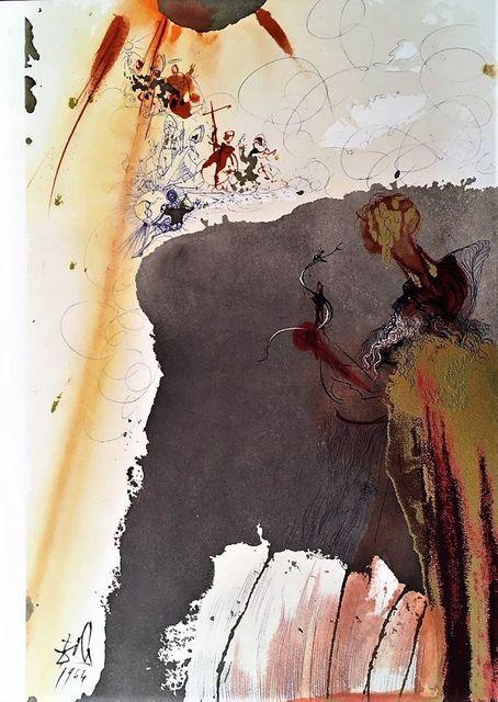 Salvador Dalí, 'De Petra Exivit Aqua', 1964, Wallector