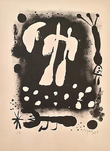 Joan Miró, 'Je travaille comme un jardinier', 1953, Blanca Soto Arte