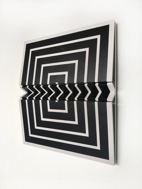 Robert William Moreland, 'Untitled Black Square  45 x 40 5.75 ', 2018, Wilding Cran Gallery