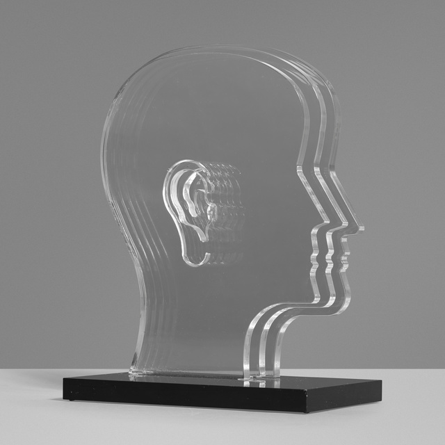 In the manner of Nicola L., 'Untitled (Head)', c. 1975, Sculpture, Acrylic, Rago/Wright