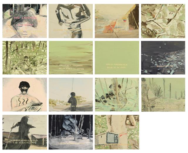 , 'Downey Yanomami (de transamerica vzla). Serie 2. El Caimán con la risa de fuego.,' 2015-2016, Carmen Araujo Arte