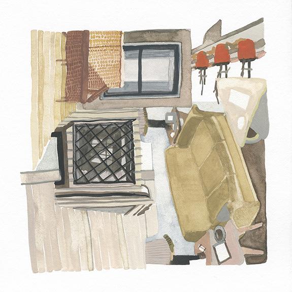 , 'Planters,' 2015, Open Mind Art Space