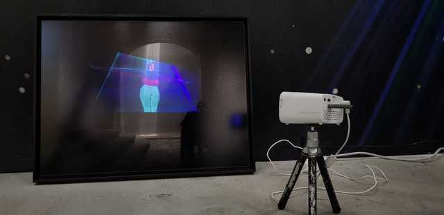 , 'Poem #91 with Video Installation,' 2013, Luisa Catucci Gallery