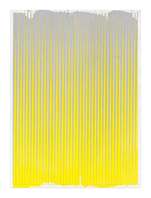 , 'Lonely Planet (Cool Grey / Lemon Yellow),' 2016-2017, Gavlak