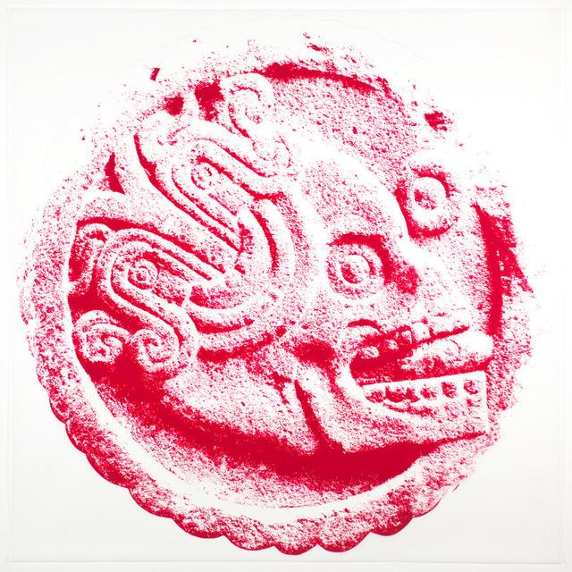 , 'Aztec Skull,' 2013, C. Grimaldis Gallery