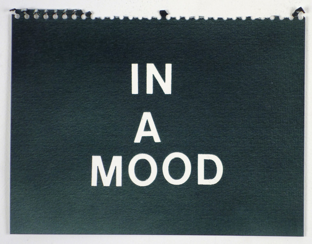 , 'In a Mood (black),' , Rodolphe Janssen