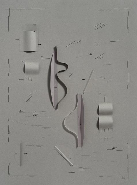 , 'Vu double,' 2012, Alejandra von Hartz Gallery