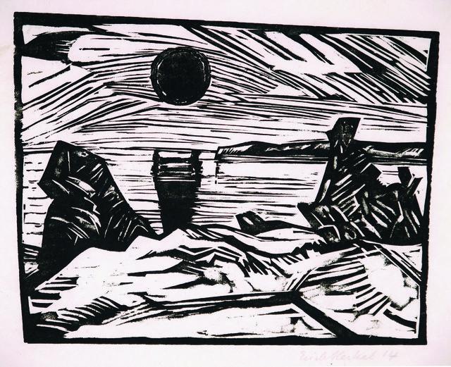 , 'Sonnenaufgang,' 1914, Henze & Ketterer