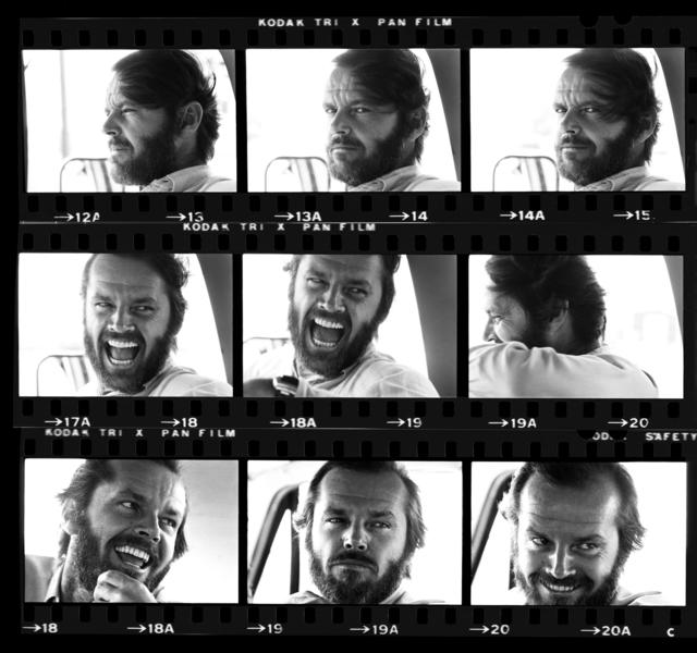 , 'Jack Nicholson Contact Sheet,' 1976, Holden Luntz Gallery