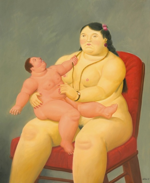 Fernando Botero, 'Mother and Child ', 2003, Opera Gallery