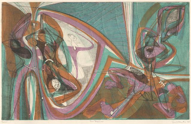 , 'Cinq Personnage 1946 (B/M#168),' 1946, Dolan/Maxwell