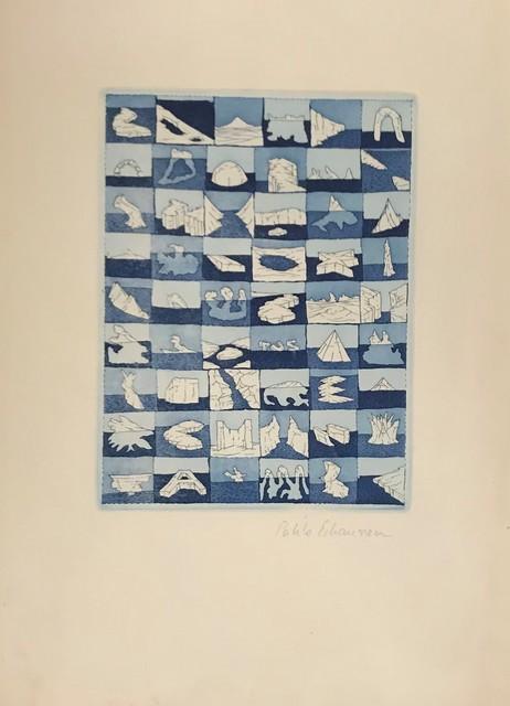 Pablo Echaurren Matta, 'Untitled', Print, Etching in colours on paper, DIGARD AUCTION