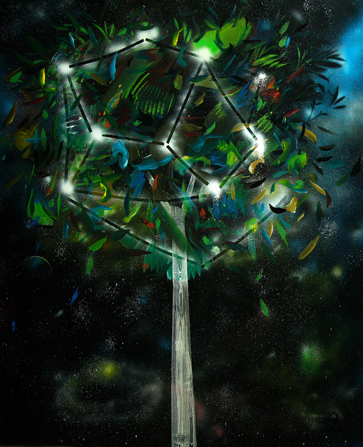 , 'The space tree,' 2013, Anna Laudel