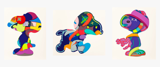 KAWS, 'No One's Home; Stay Steady; The Things That Comfort (three works)', 2015, Heritage Auctions