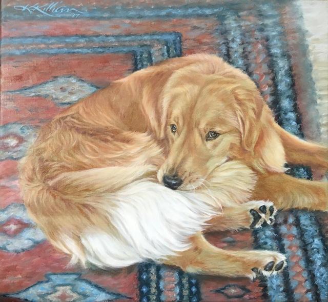 ", '""Hair of the Dog"",' 2017, Dog & Horse Fine Art"
