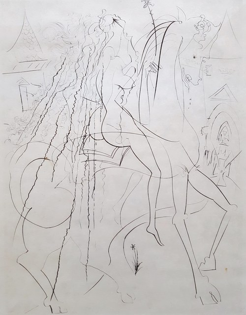 Salvador Dalí, 'Lady Godiva', 1969, Graves International Art