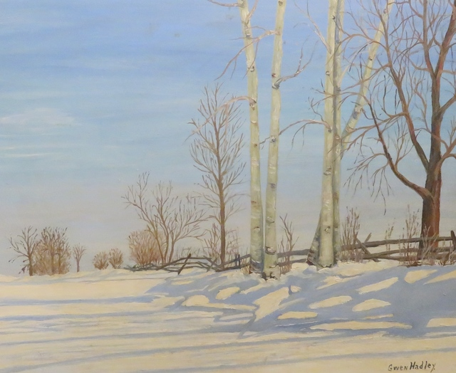 , 'Shadows on Snow,' , Arctic Experience McNaught Gallery