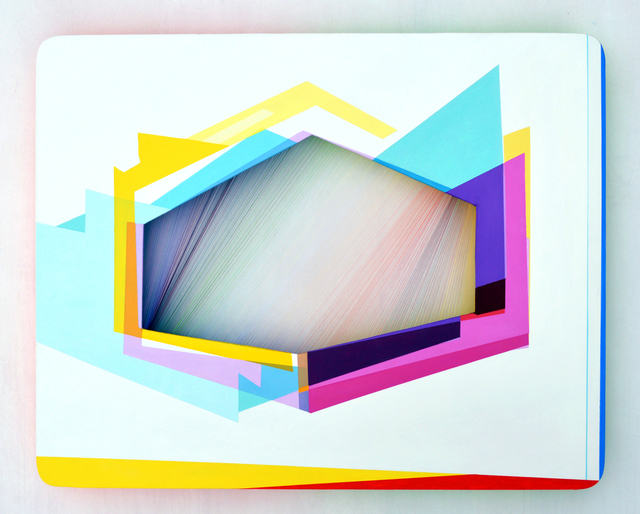 , 'Light Threads Set 2 #1,' 2014, Richard Levy Gallery