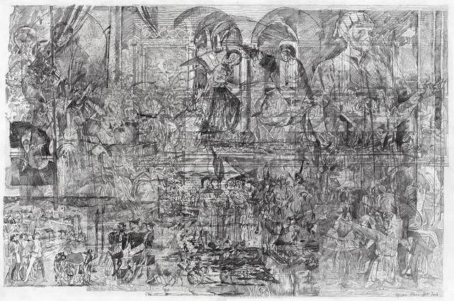 , 'Le grand alpha de la peinture 5,' 2016, Galeria Plan B