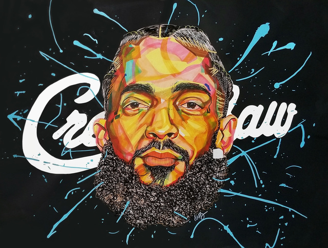 Domonique Brown, 'Nipsey', 2019, Artspace Warehouse