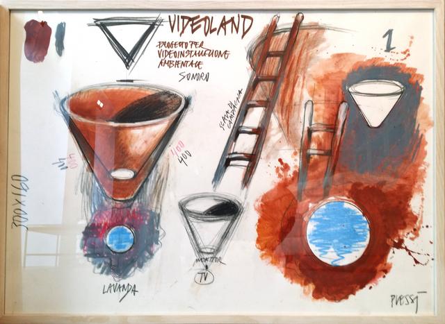 , 'Videoland III,' 1987, Mario Mauroner Contemporary Art Salzburg-Vienna