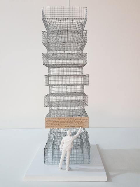 , 'La Colonne de Claude Nicolas Ledoux,' 2017, Galerie Marie-Robin