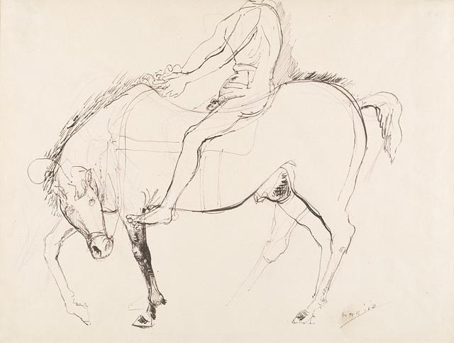 Marino Marini, 'Cavallo e cavaliere', Il Ponte