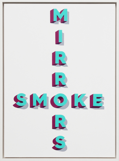 , 'Smoke and Mirrors,' 2016, StolenSpace Gallery