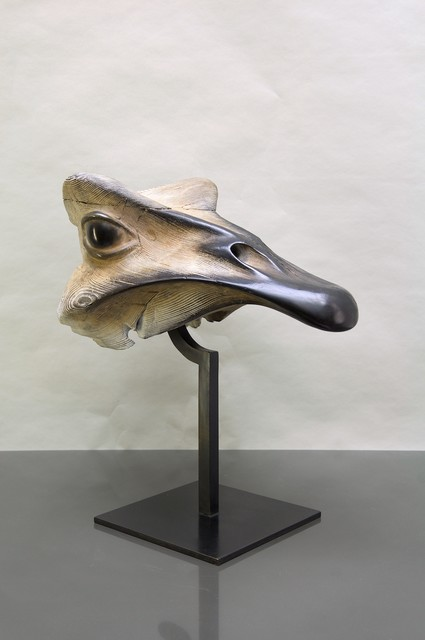 , 'The mask of the Ostrich,' 2017, Mazel Galerie