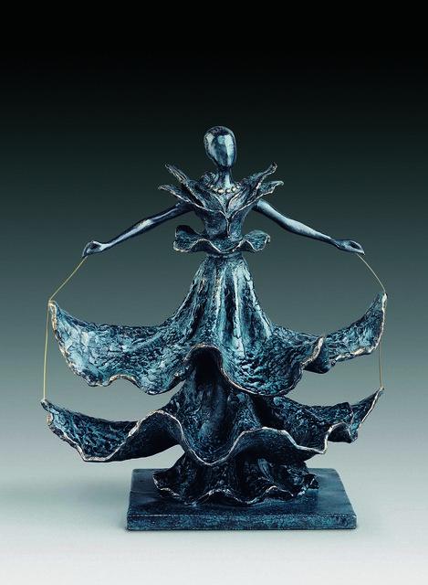 Salvador Dalí, 'Dalinian Dancer', 1949, Sculpture, Bronze lost wax process, Dali Paris