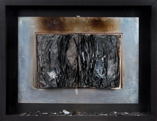 , 'Livre brûlé,' 1972, De Buck Gallery
