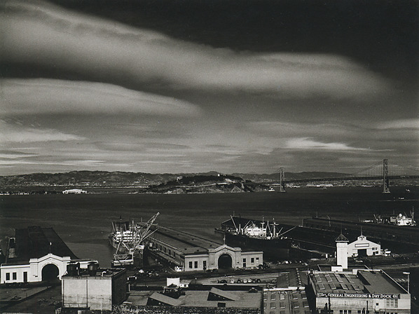, 'Piers and Waterfront, San Francisco ,' 1948, Scott Nichols Gallery