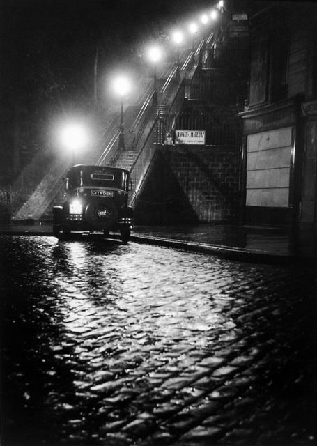 , 'Rue Muller, Paris,' 1934, Peter Fetterman Gallery