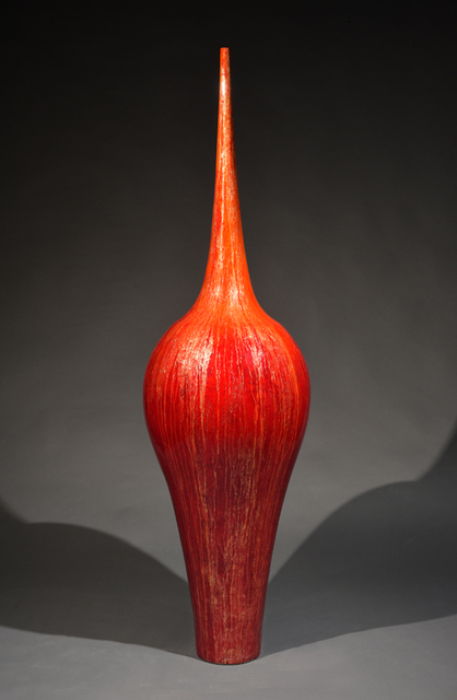 Tommy Zen, 'Baroque Coral Contemporary Flute ', 2020, Sculpture, Cerami, Thompson Landry Gallery