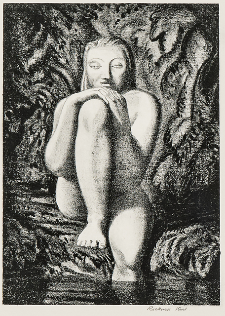 Rockwell Kent, 'Susanna', 1929, Print, Lithograph on paper, Skinner