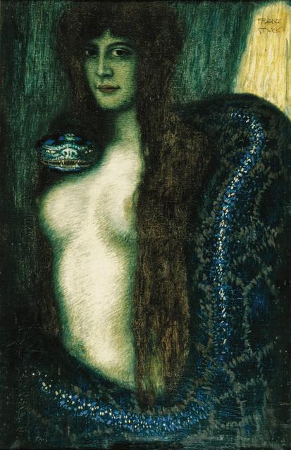 , 'Die Sünde (Sin),' ca. 1908, Frye Art Museum