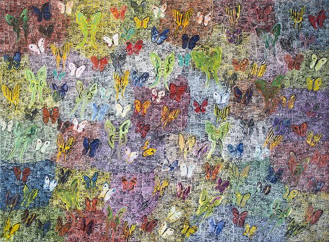 , 'Banded Purple (CRK02650),' 2016, Galerie de Bellefeuille