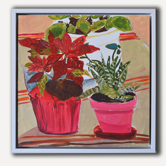 Anna Valdez, 'Three Houseplants', 2015, Tappan