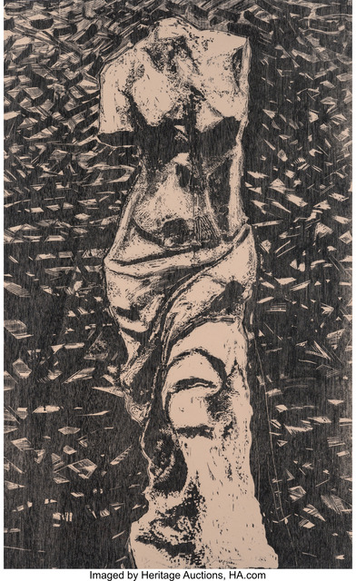 Jim Dine, 'Black Venus in the Wood', 1983, Heritage Auctions