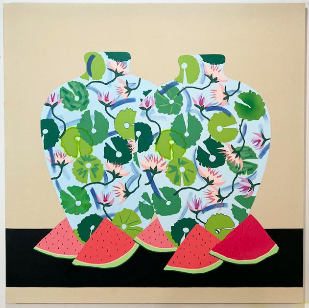 Stephen D'Onofrio, 'Still Life Watermelon & Waterlily', 2019, Galleri Urbane