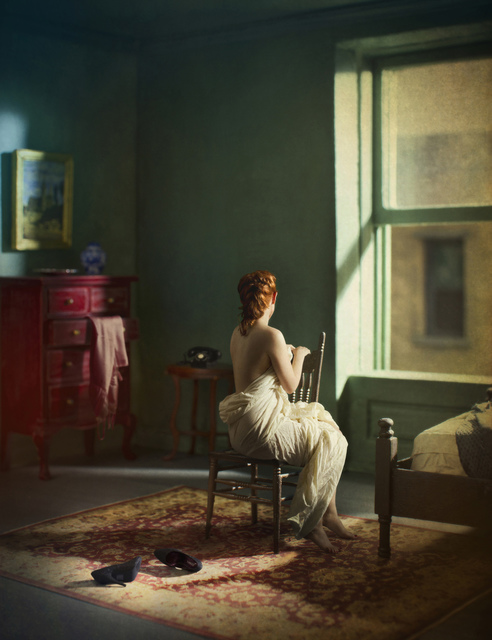 , 'Green Bedroom (Morning),' 2013, KLOMPCHING GALLERY
