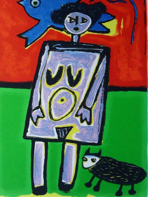 Corneille, 'Le ciel rouge', 2002, Okker Art Gallery