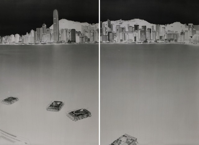 , 'Avenue of Stars, HK 2-3 July 2016 (diptych),' 2016, 10 Chancery Lane Gallery