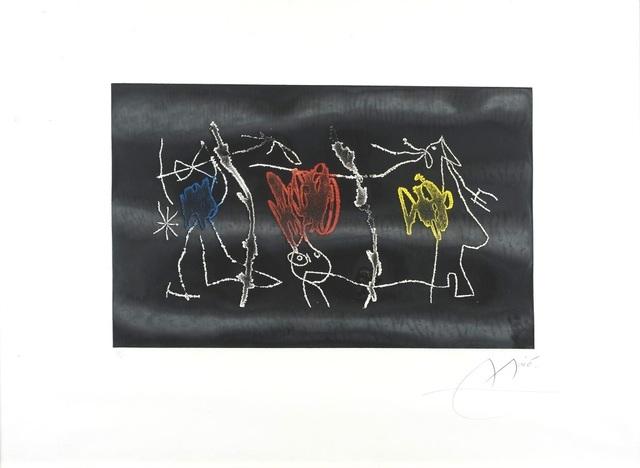 Joan Miró, 'Nocturn Catala', 1972, Wallector