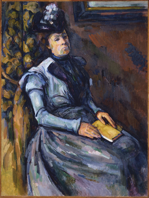 Paul Cézanne, 'Seated Woman in Blue', Between 1902 and 1906, Phillips Collection