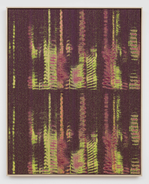 , 'Negative Entropy (Kazue Kobata, Purple, Double),' 2015, 11R