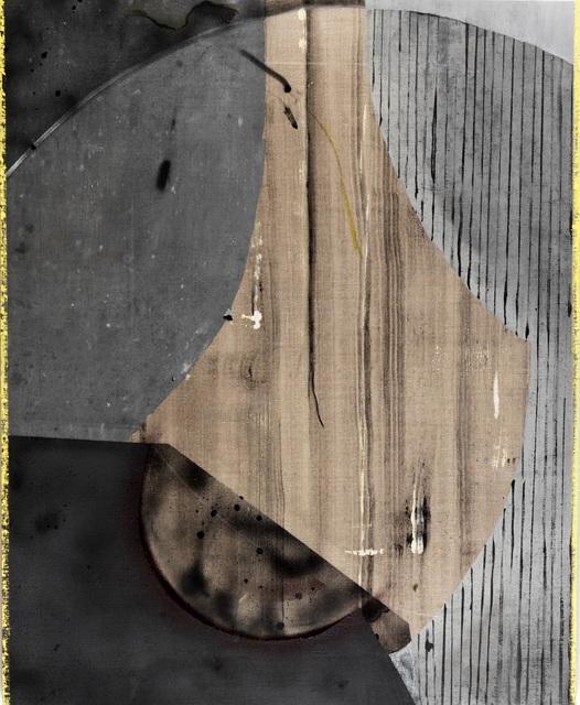 , 'Cement, Wood, Stars, 2,' 2019, Espacio Valverde