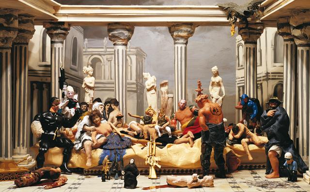 , 'La Junta de la Decadencia, Estudio para la Sinfonía del Poder Eterno,' 2009, Isabel Croxatto Galería