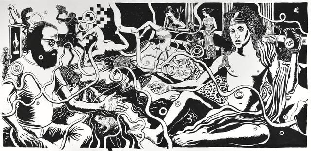 , 'Dionysus Mindwarp,' 2016, Suzanne Tarasieve