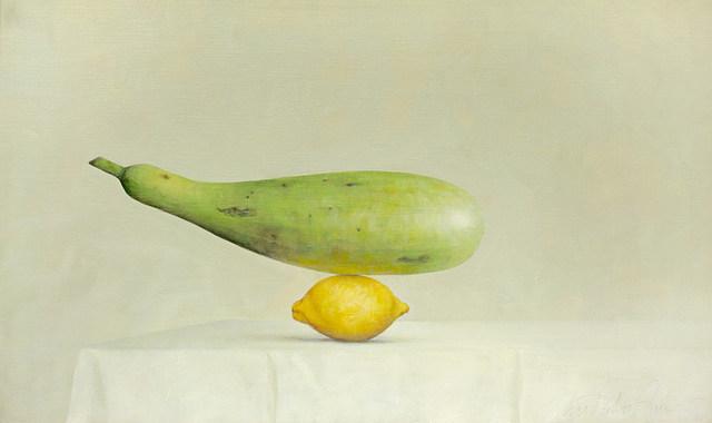 , 'Bottle Gourd and Lemon,' 2015, Galerie Huit